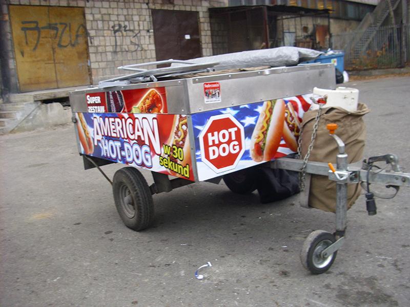 hotdog oklejanie auta