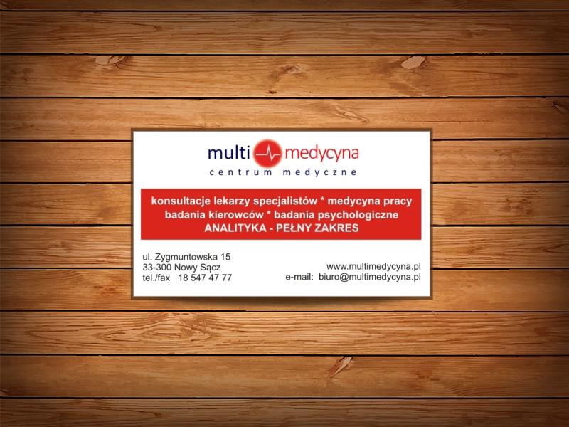 medycyna wizytówki druk