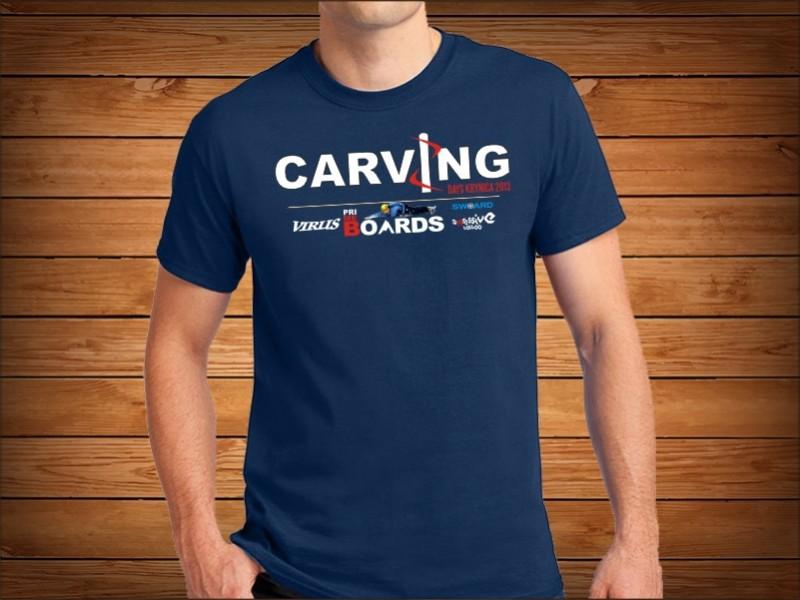 carving koszulki z nadrukiem reklamowym