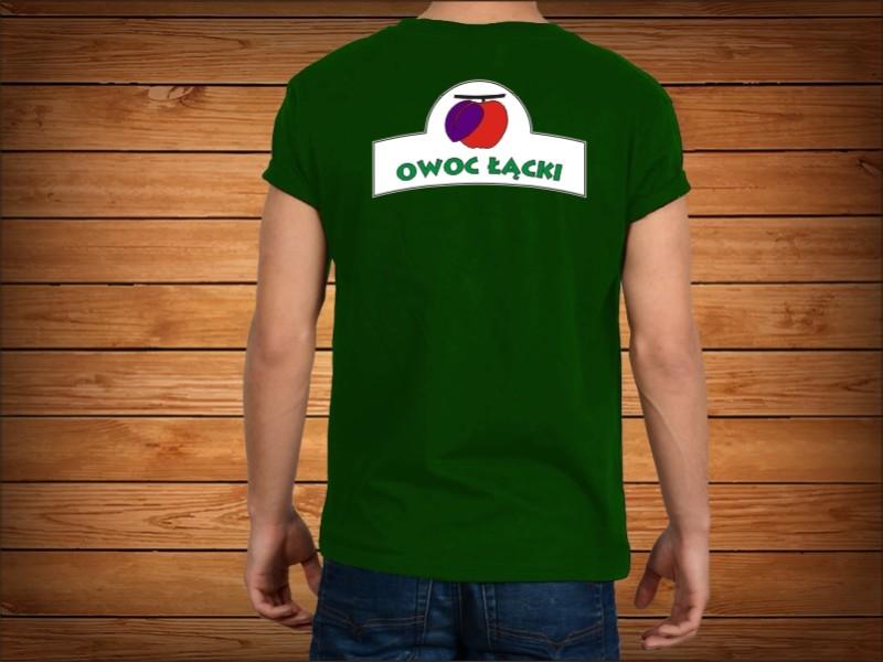 owoc koszulki z nadrukiem reklamowym